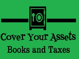 Cover Your Assets Books and Taxes's header