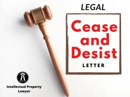 Prepare your cease and desist letter
