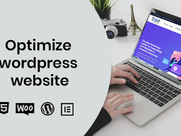 Optimize and increase the speed of wordpress website