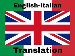 Translate up to 1000 words from English to Italian