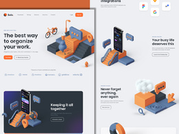 Design your Website with 3D Assets