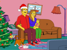Draw you like a yellow cartoon in simpsons style