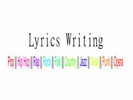 Write 1 Music Song Lyrics