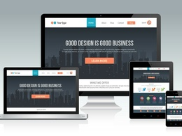 Build a responsive WordPress website - Small Business