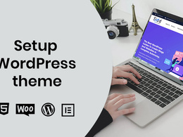 Setup WordPress theme