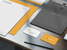 Design a logo / double sided business card / letterhead,etc.