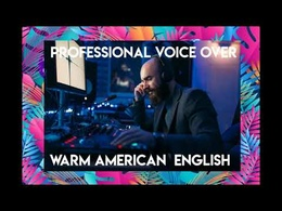 Deliver American English Male Voice Over up to 250 words