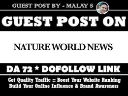 Guest post on Natureworldnews. Natureworldnews.com – DA7