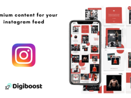 Create 12 branded Instagram posts for your business