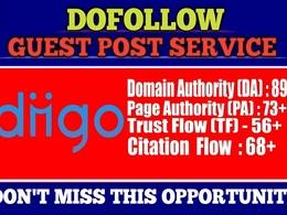 Write And Publish Dofollow Guest Post On Diigo||Diigo.Com da 90