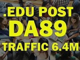 Guest Post On UBC - UBC.CA DA 89 Dofollow Backlinks