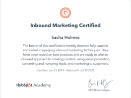 Marketing By Sacha Ltd's header