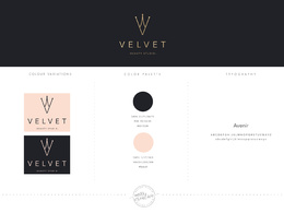 Design your Brand Logo ( 4 x Concepts, palette and fonts)