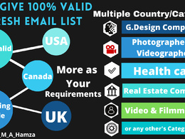 I Will Give you a Multi-Category Targeted Email Collection List