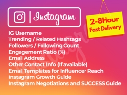 Find 20 best Instagram Influencers for your targeted Niche