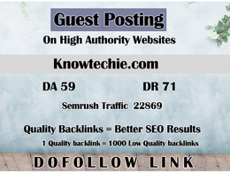 Guest post on Knowtechie - Knowtechie.com - DR 71