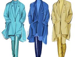 Create a fashion illustration