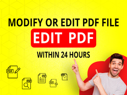 Update PDF as per your directions