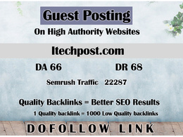 Guest post on itechpost - itechpost.com - DR 68