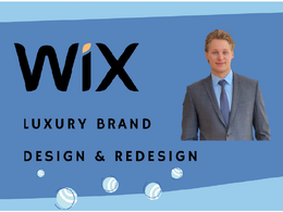 Build wix website design or redesign wix website