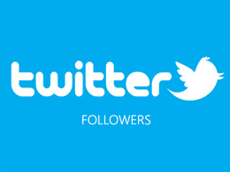 Promote and provide 1000 active Twitter Follower to your account