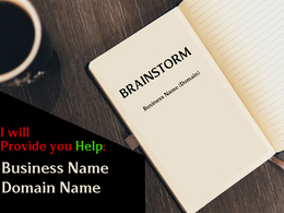 Brainstorm Innovative Business Name, Company Name, Brand Name