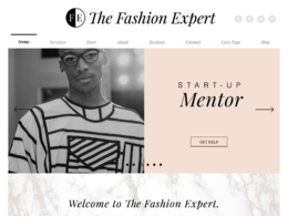 The Fashion Expert® Michelle Ramsay Design Limited's header