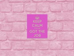 Proofread and tweak your job application