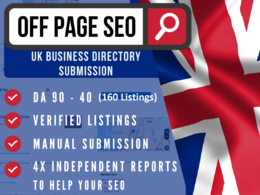 Create 200 UK business directory links & citations