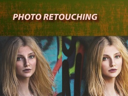 Do color correction, color adjustment and retouching of 2 photos