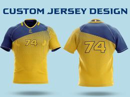 Design a full print sublimation jersey or uniform