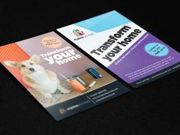 Design a double-sided flyer/postcard/leaflet/brochure/invitation