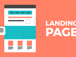 Create a landing page/ under construction page