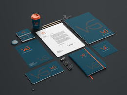 Design corporate branding identity for your company