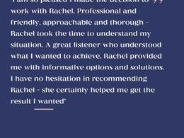 Rachel's header