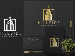 Design a luxury logo, stationery design and branding