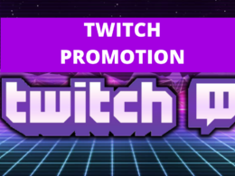 Promote twitch channel to targeted 3000 + audience