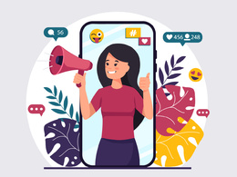 Create modern vector illustration with people