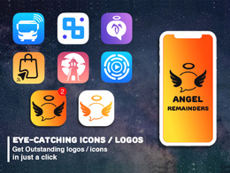 Design modern and professional app icon or logo