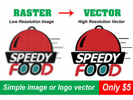 I will convert logo or image to vector ai, eps, svg, png, pdf