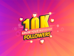 Promote your Instagram and grow real 3000 Follower