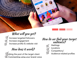 Manage and Grow your Instagram Account Organically
