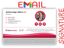 Create an awesome clickable email signature