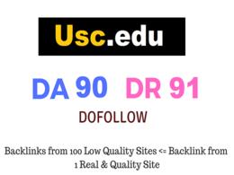 Guest Post on  USC - Usc.edu - DA91 DR91