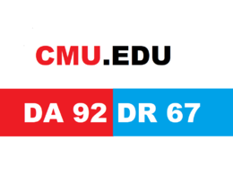 Guest Post On Carnegie Mellon University CMU. edu DA 92