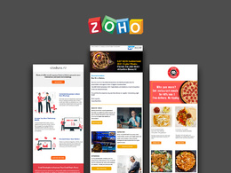 Develop responsive Zoho Email Template or Email Newsletter