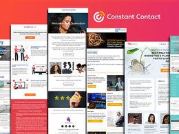 Design responsive Constant Contact Email Template and Newsletter