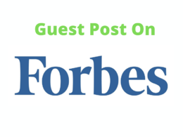 Publish Guest Post Content On Forbes