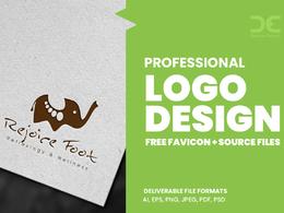 Design Professional logo + Free favicon + logo source files