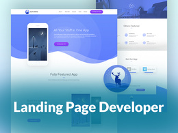 Code your landing page for your business promotion